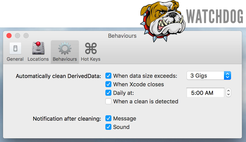 - 208 living with xcode by clearing derived data watchdog - #208: Living with Xcode by Clearing Derived Data 🛠💩 – Little Bites of Cocoa