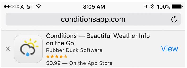 214: Adding Smart App Banners to an App's Website
