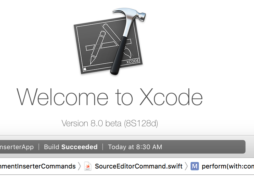 - 239 3 - #239: Creating an Xcode Source Editor Extension 🛠 – Little Bites of Cocoa – Tips and techniques for iOS and Mac development